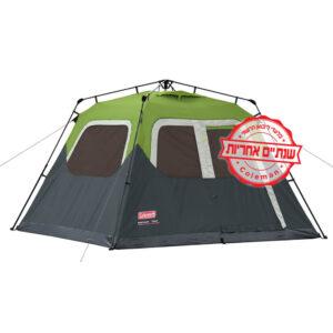[tag] אוהל בן רגע ל6 של COLEMAN 5-6 אנשים
