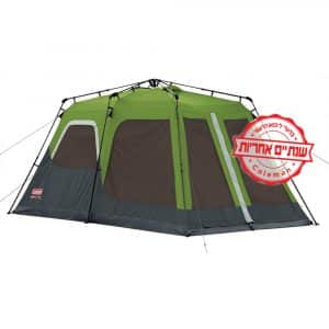 [tag] אוהל בן רגע ל8 של COLEMAN 8 אנשים ומעלה