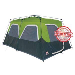 [tag] אוהל בן רגע ל10 של COLEMAN 8 אנשים ומעלה